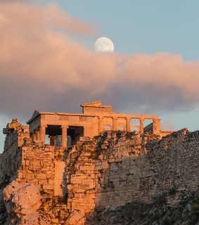 Athens, Greece and acropolis