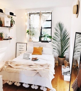 chic, small space and sleek