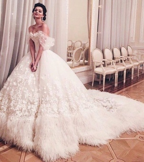 bridal dress, wedding and luxury