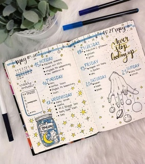 bujo, bullet journal and journal