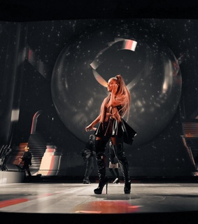 ariana grande and filter