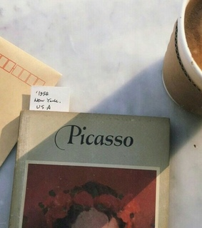 art, book and picasso
