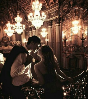 chandelier, couple and decor