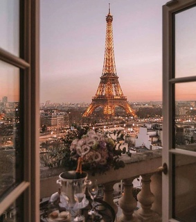 collections, discover feed and eiffel tower