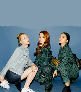 betty cooper, camila mendes and cheryl blossom