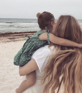 daughter, family and cute
