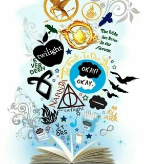 hunger games, shadowhunters and divergent