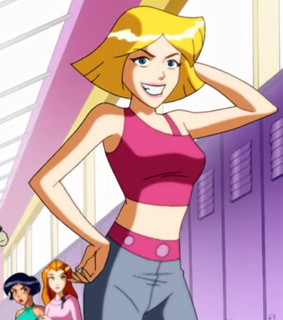 clover, cartoon characters and totally spies