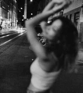 black and white, girl and photography