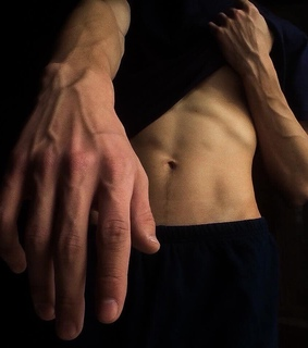 abs, aesthetic and arm