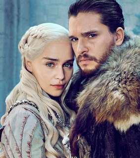 kit harington, daenerys targaryen and game of thrones
