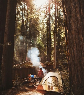 camp, campinglover and hike