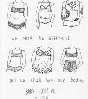 proud, body positive and bodies