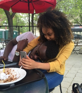 melanin, curly hair and issa relationship
