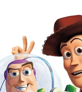 friends, buzz and woody
