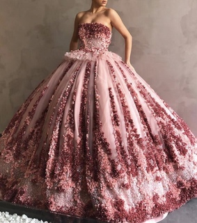 Prom, ballgown and dress