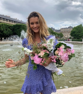 blue, bouquet and fashion