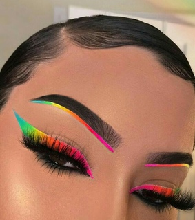 beauty, colorful and cosmetics