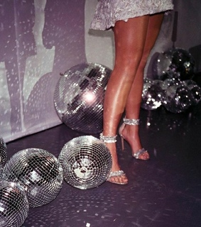 disco, retro and disco ball