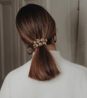fashion, gold and hair