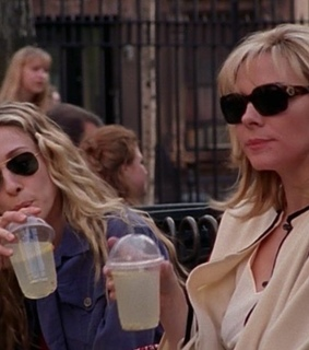 90s, Carrie Bradshaw and Kim Cattrall