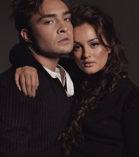 leighton meester, ed westwick and gg