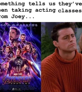 Marvel, acting and comedy