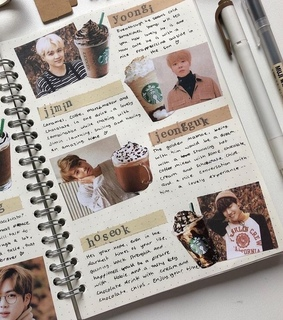aesthetic, bts and cafe