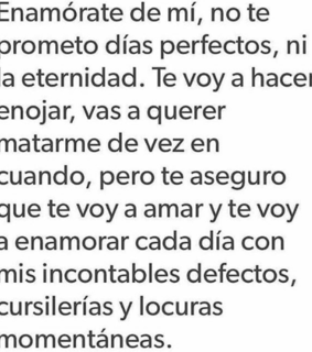 días, frases de amor and perfecto