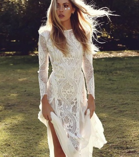 boho wedding dress, lace wedding dress and wedding dresses