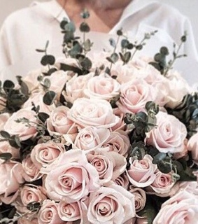 pink aesthetic, flower and pale rose
