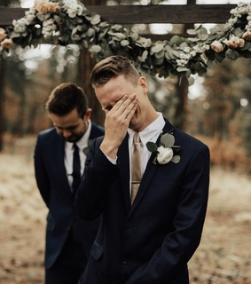 bride, couple photography and crying