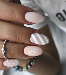 design, manicure and nail art