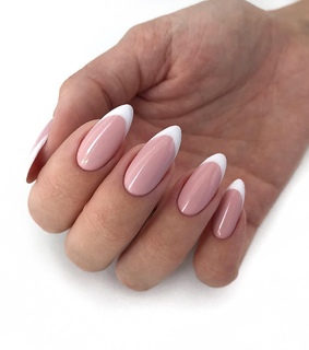 french, manicure and nail art