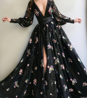 black, cool and dres