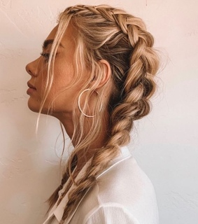 hair, hair style and hairstyle