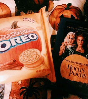 pumpkin spice, oreo and pumpkin