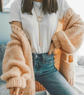 cardigan, goals and fashion