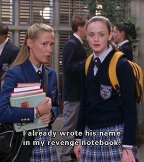 picture, revenge and gilmore girls