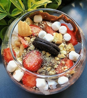 food, strawberry and snack