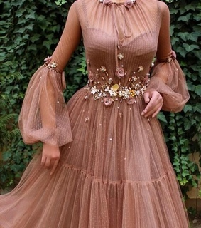 delicate, elegant and pink