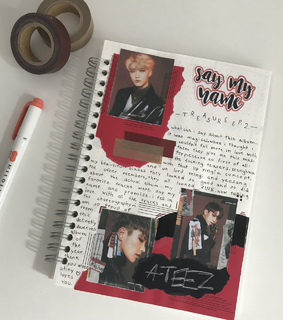 ateez, bullet and inspiration