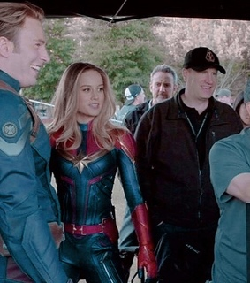 Avengers, behind the scenes and captain america