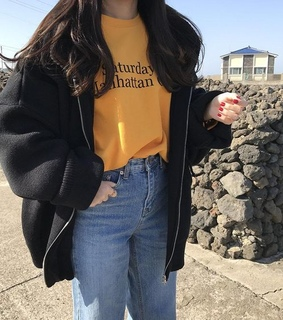 aesthetic, casual and cute