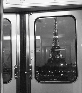 black and white, eiffel tower and france