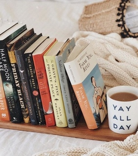books, coffee and time