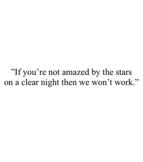 quotes, stars and words