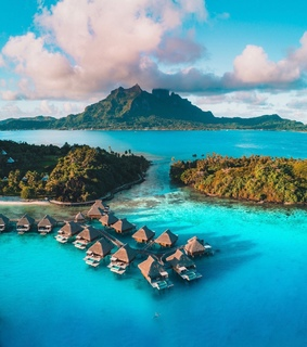 Houses, bora bora and cottages