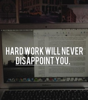 hard work, students and studying