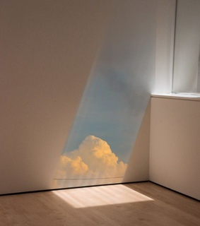 aesthethic, art and cloud